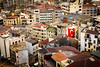 Istanbul Cityscape (King Grecko) Tags: traveldestinations cityscape colorsplash coloursplash constantinople contrast europe islamic istanbul street streetscene tulipstravel turkeii turkey urban urbanization