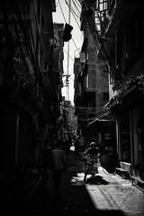Nepal Alley (wilsonchong888) Tags: leicamsummilux35mmf14asphii m10 leica black white streetphotography nepal kathmandu monochrome motorbike alley ngc blackwhitepassionaward