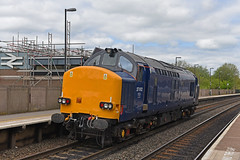Unbranded Class 37 (garstangpost.t21) Tags: 37612 0z37 tamworth cardiffcanton derbyrtc