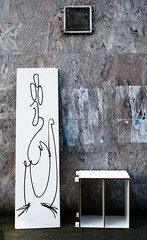 Streetart Miscellaneous 2438 (cmdpirx) Tags: hamburg germany reclaim your city urban street art streetart artist kuenstler graffiti aerosol spray can paint piece painting drawing character chari colour color farbe spraydose dose marker stift kreide chalk stencil schablone wall wand nikon d7100 cutout fun humor vandalism vandalismus tag tagging quote slogan spruch