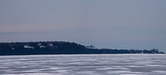 Mackinaw City Panorama (mobius2016) Tags: mackinaw island city winter frozen ice bridge sleeping bear dunes michigan