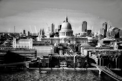 St Paul's Cathedral, London (Massimo Virgilio - Metapolitica) Tags: blackandwhite stpaulscathedral architecture city unitedkingdom london