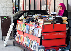 The bookseller of Mostar (Harry McGregor) Tags: bookseller nikon mostar harrymcgregor d3300 bosniaherzegovina may 8 2018 bookshelf books