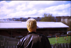 Football Punk Glasgow (Pgcc) Tags: glasgow punk leather spikes partickthistlefc firhill hamiltonaccies kodakektar100 2018 may 35mmfilm canona1 vivitarseries1 f28 komine thejags 70210mmlens football scottish scotland city ©allrightsreserved2018 piercings peircedears earings kodak film ektar100 sexpistols ©2018