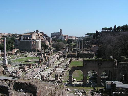 Римський форум, Рим, Італія InterNetri Italy 396
