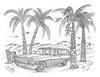 Tiki Flats (rod1691) Tags: myart art sketchbook bw scfi grey concept custom car retro space hotrod drawing pencil h2 hb original story fantasy funny tale automotive illustration greyscale moonpies sketch sexy