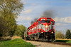 Afternoon Muscle (sdl39hogger) Tags: wsor wamx watco wisconsinsouthern waukeshasub emd electromotivedivision sd40 sd402 sd45 eagle wisconsin canon canont6i