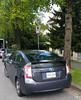 2014 Toyota Prius (D70) Tags: samsung smg900w8 ƒ22 48mm 1210 40 parked illegally this person bus route driver needs area get nose around corner not careful with scratches missing paint right rear already toyota prius hydrid