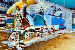 India - West Bengal - Darjeeling - Himalayan Railway - Ghum Station - Steam Locomotive 795 B - 40bb (asienman) Tags: india westbengal darjeeling ghumstation asienmanphotography asienmanphotoart