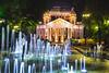 National Theater Ivan Vazov (borislav.v.petrov) Tags: sofia bulgaria night photograhpy fontain coollook
