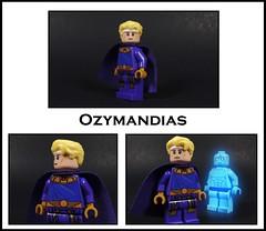 Ozymandias (-Metarix-) Tags: lego super hero minifig dc comics comic watchmen doomsday clock rebirth universe dr manhattan