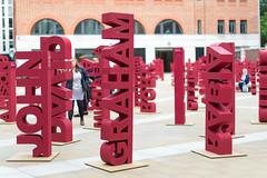 John David Graham Rabia (Mister Rad) Tags: nikond600 nikon50mmf14g london cityoflondon paternostersquare publicart names sculpture