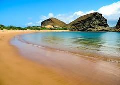 Beach on Bartolome Island-2915 (kasiahalka (Kasia Halka)) Tags: bartolomeisland ecuador galapagos galapagosislands snorkeling southamerica starfish water pacificocean ocean animal animals