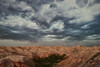 Thunderstorms over the Badlands (davidgevert) Tags: badlands badlandsnationalpark clouds d800 davidgevert dramaticlandscape dramaticweather gevertphotography landscapephotography landscape lightning nikond800 nikonpce nikonpce24mm rocks ruggedsouthdakota ruggedterrain southdakota storm stormclouds stormlandscape tiltshift