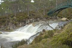 Flowing Waters (steve_whitmarsh) Tags: aberdeenshire scotland scottishhighlands water river waterfall bridge rocks longexposure