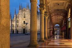 Duomo Pillars (JH Images.co.uk) Tags: duomo milan italy hdr dri blue hour twilight cathedral
