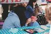 An Offer You Cannot Refuse (little_stephy0925) Tags: vancouver bc britishcolumbia canada richmond steveston localmarket fujifilm fuji fujifilmxt2 xt2 fujixt2 fujinonxf56mm xf56mm mirrorlesscamera classicchrome facepainting kid nothappy streetphotography streetphoto