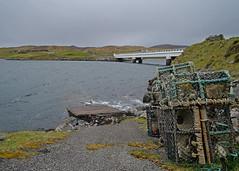 Great Bernera Bridge.. (Harleynik Rides Again.) Tags: bridge isleoflewis greatbernera loch water weather pots creels outerhebrides scotland westernisles nikondf harleynikridesagain
