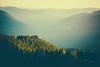 Earth Burn (michellelynn) Tags: earthday firelookout washingtonstate hazy smoky landscape sunset wildskywilderness mountainpeaks mtrainier