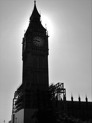 Big Ben (Hollie_Lea95) Tags: tower sky clock london england britain europe travel landmark construction big