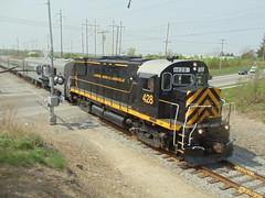 DSC06413 (mistersnoozer) Tags: lal shortline railroad rr rgvrrm excrusion train alco locomotive c425