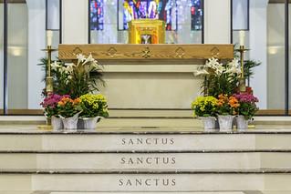 Shrine of the True Cross - Sanctus