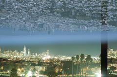 a million people do it better mentality (m_travels) Tags: sanfrancisco doubleexposure 35mmfilm noedit analog filmphotography night day skyline urban city ishootfilm