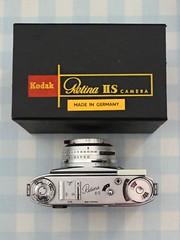 Camera of the Day - Kodak Retina IIS (Type 024) (TempusVolat) Tags: garethwonfor gareth wonfor tempusvolat tempus volat mrmorodo kodak retina camera 35mm film vintage boxed mib 1950s collection chrome retinaiis iis