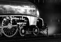 GWS 74002bwcr (kgvuk) Tags: gws didcot didcotrailwaycentre unionofsouthafrica 60009 a4 pacific 462 steam locomotive engine train railway lner br britishrailways nightphotography