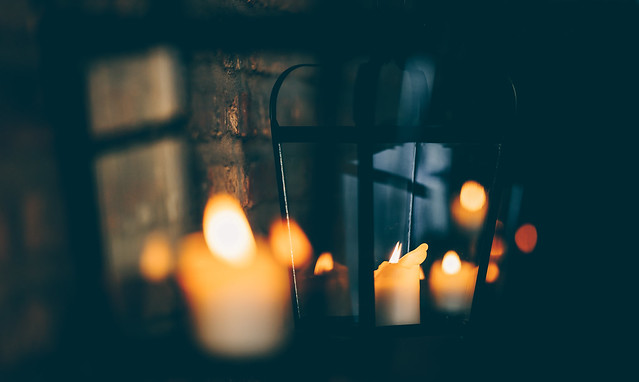 Candles in a Barn