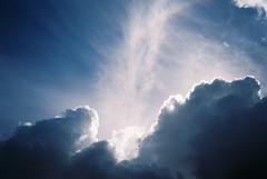 Clouds (knautia) Tags: leighwoods bristol england uk may 2018 film ishootfilm olympus xa2 fuji superia 400iso olympusxa2 nxa2roll9 nationaltrust woods sky clouds