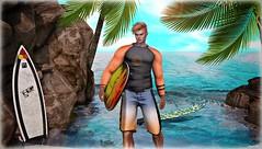 ♔ LoTd 105 (Victoria Michigan) Tags: flow sea surfboard millo copperfield hipster men event slink akeruka etre doux blogger beach summer