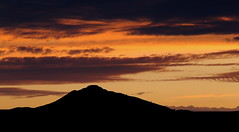 Bennachie Sunset (PeskyMesky) Tags: aberdeen aberdeenshire bennachie sunset sunrise mountain red sky cloud landscape scotland canon canon6d leefilter ndgrad