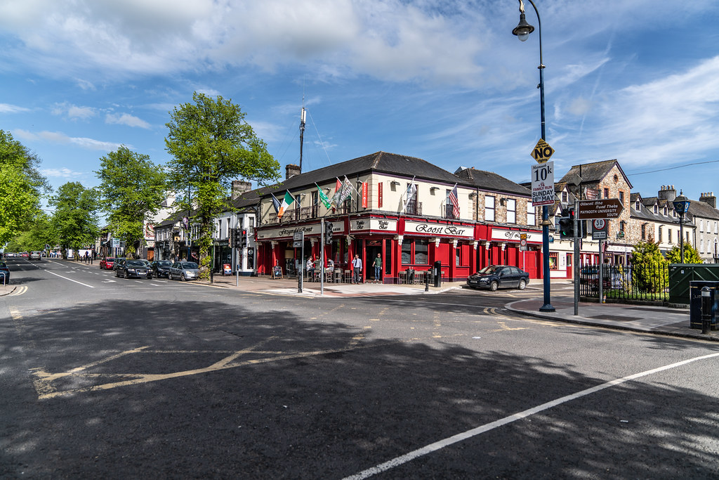 THE ROOST BAR IN MAYNOOTH [COUNTY KILDARE IRELAND]-139766