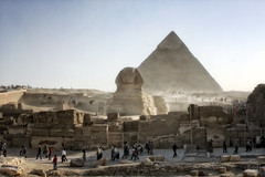 Great Sphinx at Giza (superdavebrem77) Tags: sphinx cairo egypt
