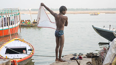 Bath-31.jpg (Karl Becker Photography) Tags: india varanasi ganges river nikon bath youngman boy man shirtless