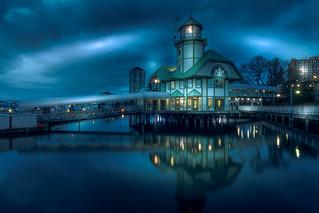 Bastion Lighthouse blue