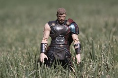 She's Too Strong...Without My Hammer, I Can't... (westhl) Tags: thor ragnarok marvel legends action figure figures toy toys hasbro mcu hela god thunder death goddess odin allfather asgard photo photography photograph