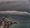 Manic Monday (jnhPhoto) Tags: 7rm3 chicago cityscape jnhphoto stormy clouds lakemichigan lake lakeshoredrive landscape