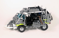 Zombie truck 19 (skbor74) Tags: lego legomaster zombie zombieattack zombies survival apocalypse truck base