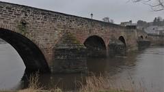 Devorgilla Bridge, Dumfries, Scotland (Alta alatis patent) Tags: dumfries scotland devorgilla bridge ancient arches sandstone