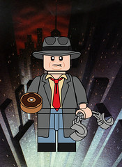 Harvey Bullock (Ashnflash98) Tags: lego batman animated series detective harvey bullock gotham city gcpd