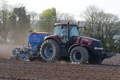 Case IH Magnum 335 Tractor with a Lemken Solitair 9 Seed Drill & Power Harrow (Shane Casey CK25) Tags: case ih magnum 335 tractor lemken solitair 9 seed drill power harrow cnh nh red cobh onepass one pass traktor trekker traktori tracteur trator ciągnik sow sowing set setting drilling tillage till tilling plant planting crop crops cereal cereals county cork ireland irish farm farmer farming agri agriculture contractor field ground soil dirt earth dust work working horse horsepower hp pull pulling machine machinery grow growing nikon d7200