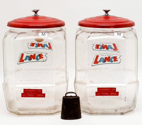 Lance Display Jars and Display Rack ($644.00)