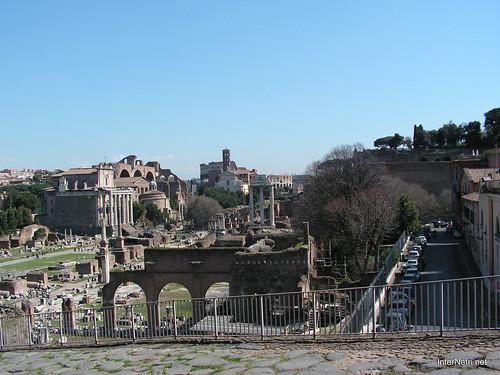Римський форум, Рим, Італія InterNetri Italy 390