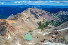 View of Tieton Peak from top of Gilbert Peak, looking NE. (Ken Zaremba) Tags: cascademountains geography goatrockswilderness northamerica outdooractivities outdoorsports snoqualmienationalforest unitedstates washington washingtonstate backpacking camping hiking yakima geo:lon=12140703677778 geo:state=washington geo:location=unnamedroad geo:country=unitedstates geo:lat=46488406194445 geo:city=yakima