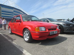 Ford Escort RS Turbo G688VRY (Andrew 2.8i) Tags: cardiff classic car show cars classics classicsincardiff mark 4 mk mk4 hatch hot hatchback s2 2 series turbo rs escort ford