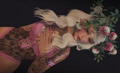 .. poppys clover .. (Pocahontas Kowalsky) Tags: adorsy bodysuit maitreya letis tattoo laq lode pinkrayne chapter four secondlife poca pocahontas kowalsky