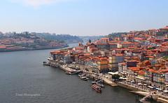 Porto depuis le pont (Tinou61) Tags: portugal porto ville fleuve douro paysage