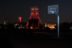 bunt (stapel2) Tags: consol consolidation zeche bergwerk gelsenkirchen bismarck schacht 9 lichtwechselruhr bunt nacht